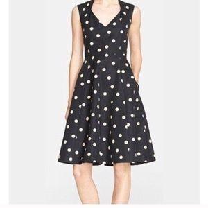 Kate Spade deco dot dress polka dot